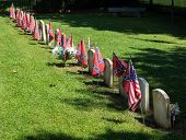 picture of confederation  - Cemetery to Confederate soldiers at Appomattox Courthouse national park in Virginia - JPG
