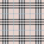 Seamless modern and trendy pink plaid pattern