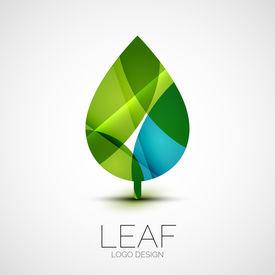 image of logo  - Leaf logo - JPG