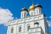 image of trinity  - Classical Russian ancient religious architecture - JPG