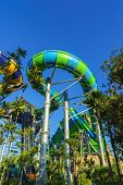 Huge and Exciting Water Tube Slides