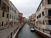 Canal and Architecture of Venice