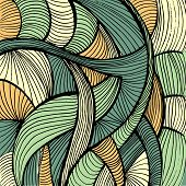 Doodles abstract background