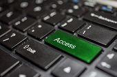 Keyboard - access key Contact us