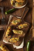 Homemade Breaded Jalapeno Poppers