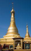 The Thein Daw Gyi Pagoda In Myeik, Myanmar