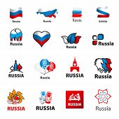 Biggest Collection Of Vector Icons Russia
