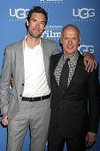 SANTA BARBARA - JAN 31:  Sean Douglas, Michael Keaton at the Santa Barbara International Film Festival - Modern Master at a Arlington Theater on January 31, 2015 in Santa Barbara, CA