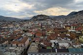 foto of virginity  - Sculpture of the Virgin on Panecillo hill in Quito - JPG