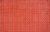 High Resolution Image Of Brick Wall. Picture Can Be Used As A Background