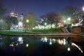 Boston Public Garden Swan Pond