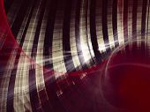 Abstract background of white stripes over dark red