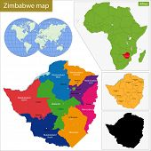 Administrative division of the Republic of Zimbabwe