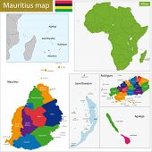 Administrative division of the Republic of Mauritius