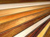 pic of woodgrain  - New oak parquet of different colors - JPG