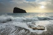 picture of crimea  - Seascape with storm - JPG