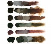 pic of dab  - Colorful volumetric brush strokes - JPG