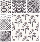 picture of pattern  - Vector patterns collection - JPG