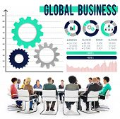 foto of enterprise  - Global Business International Growth Enterprise Concept - JPG