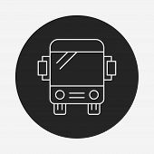 pic of bus driver  - Bus Line Icon - JPG