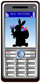 Mobile Phone Easter