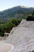 Ancient  Theatre Sanctuary Of Asklepios  Epidaurus Greece Antique