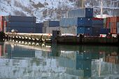 Winter Shipping Containers