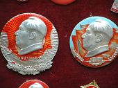 Badges With Chairman Mao