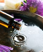 Aromatherapy.Essence oil.Spa treatment