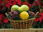 Small Fruit Basket poster