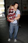 LOS ANGELES - JUN 14: Mark Wahlberg and daughter Ella at the Rock-N-Reel event held at Culver Studio