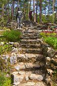 Garden Stone Stairs