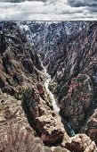 Black Canyon, o Parque de Gunnison, no Colorado