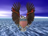 United States Seal, Pride And Freedom.
