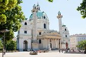 The Karlskirche (St. Charles's Church), Vienna