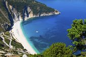 Mirtos beach at Kefalonia,  Greece