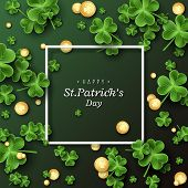 St. Patricks Day Card. poster