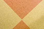 foto of linoleum  - ecological linoleum floor background composition in the room - JPG