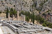 Temple of Apollo at Delphi, Greece