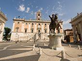Piazza Del Campidoglio By Michelangelo