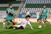 KAPOSVAR, HUNGARY - JULY 30: Walter Fernandez (in white 29) in action at a Hungarian National Champi