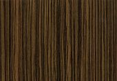 Close-Up Wooden Hq Zebrano Texture To Background
