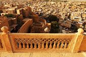 Aerial view of Jaisalmer City, Rajasthan, India