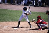 Scrant Scranton Wilkes Barre Yankees batter Jack Cust on Wilkes Barre Yankees batter Jack Cust