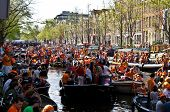 Amsterdam Channel Overcrowded