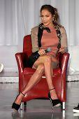 LOS ANGELES - APR 30:  Jennifer Lopez at a press conference for Yandel, Jennifer Lopez and Enrique I