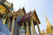 The Giant At The Emerald Buddha Temple, Bangkok, Thailand