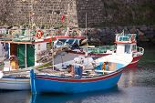 Portuguese fishing boats