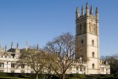 image of magdalene  - View of the historic Magdalen College - JPG