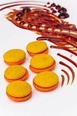 Caramel And Orange Marron Cookies